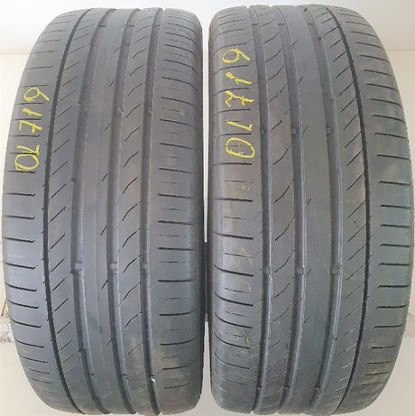 2x 255/55/18 Continental ContiSportContact 5 105W OL719
