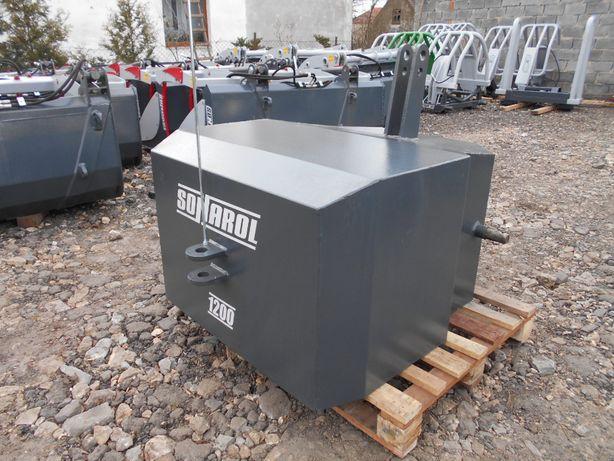 SONAROL Balast Obciążnik na Tuz 1200 kg Sonarol OBC SNR 1200