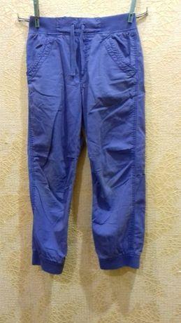 Легкие спортивные штаны, джогеры от h&m 5-6 лет