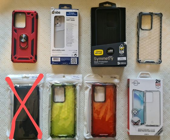 Capas para Samsung S20 Ultra 5G