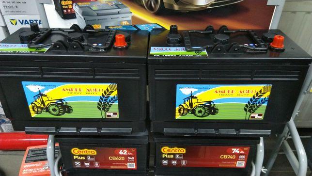 Akumulator 6V 195Ah 1100A Amper Agro CJ1952 Agri Nowy Gwarancja FV