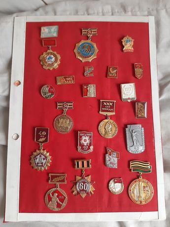 Знаки СССР День Победы 22 штуки