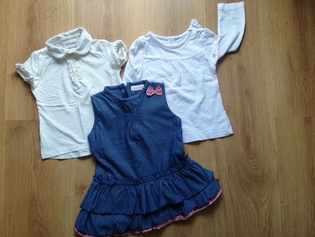 nr 67- Coccodrillo Sukieneczka + bluzeczka + gratis r 80