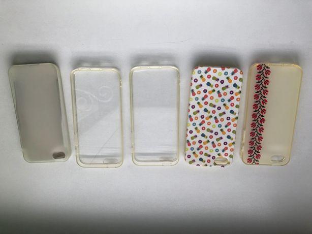 Чохли cиліконові для iPhone 5