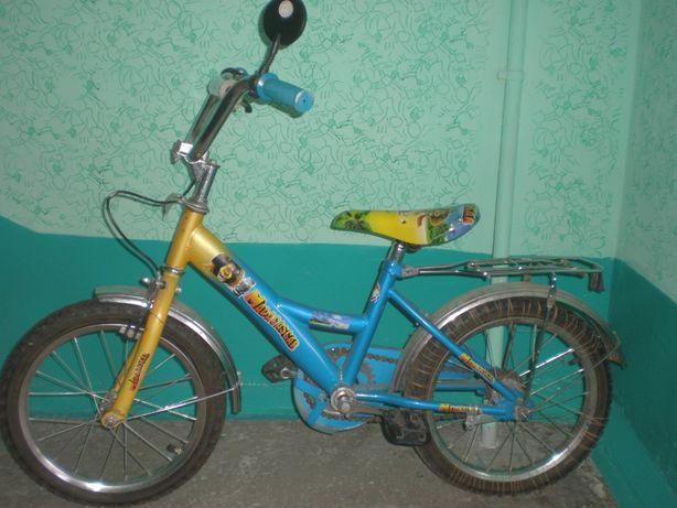 Велосипед детский Мадагаскар от 3 до 7 лет