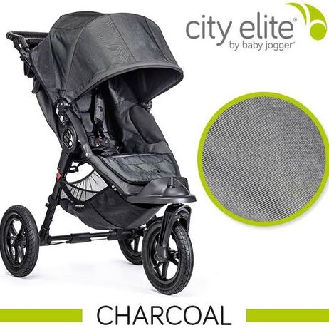 Wózek CITY BABY Jogger City ELITE - Charcoal