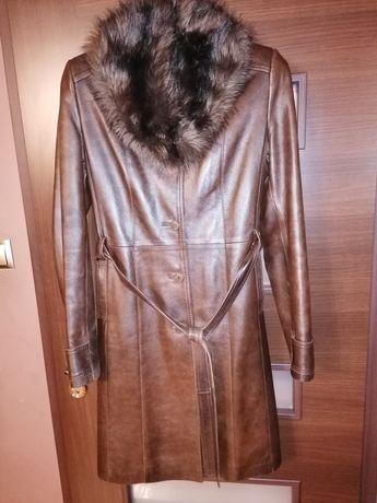 Płaszcz skórzany skóra naturalna XL/XXL