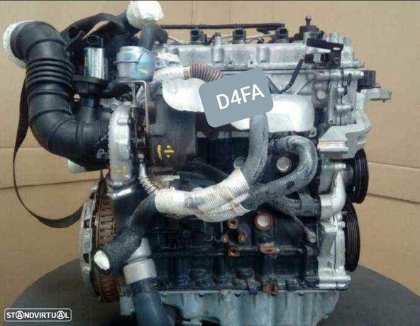 Motor KIA Rio Cerato Hyundai Matrix 1.5Crdi 110Cv Ref.D4FA