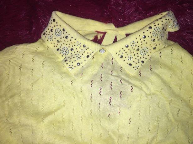 Кофтинка, футболка , кофта , блузка, майка, нарядная ажурная блуза
