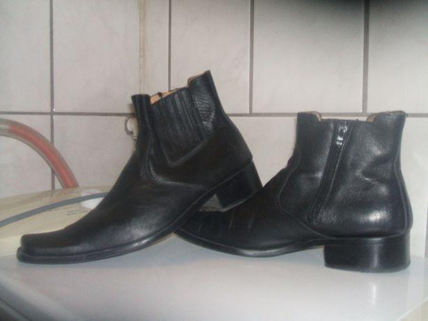 buty skórzane kowbojki męskie 42 exklusiv jakosc !