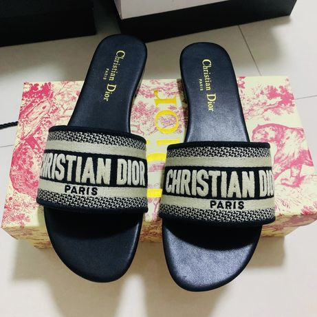 Klapki Christian Dior rozmiar 42