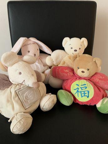 Мягкая игрушка Kaloo, Франция. Зайчик, мишка, мышка