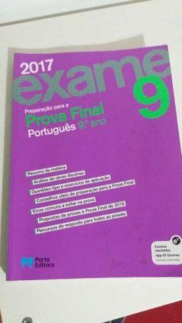 Livro para exame de português do 9 ano