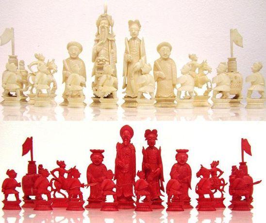 Шахматы Китай Нач. XX-го века слон. кость