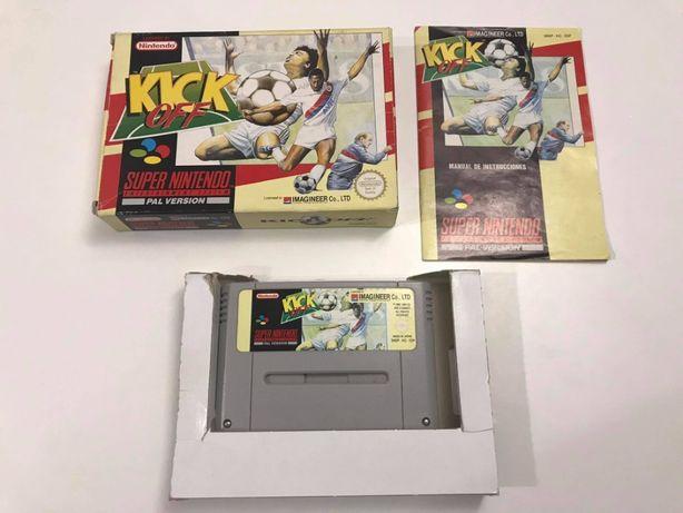 Gra Kick Off Super Nintendo SNES PAL Box