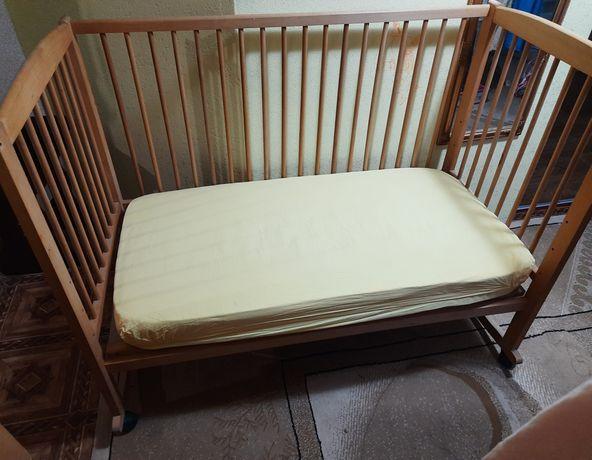 Кроватка ліжко дитяче БАШТАНКА