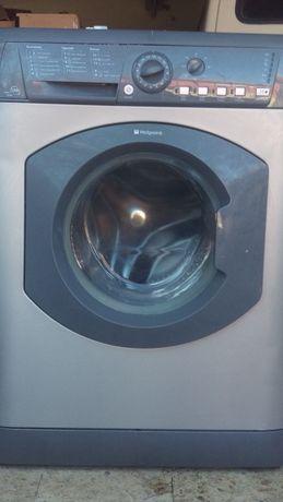 Máquina Lavar roupa ,Hotpoint usada cinzenta 8 Kilos com garantia