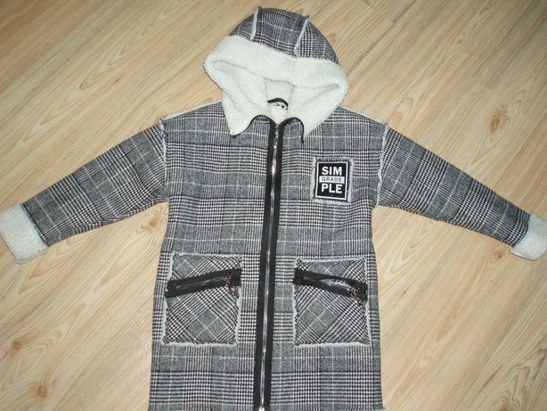 Пальто 134см фирма Мэвис
