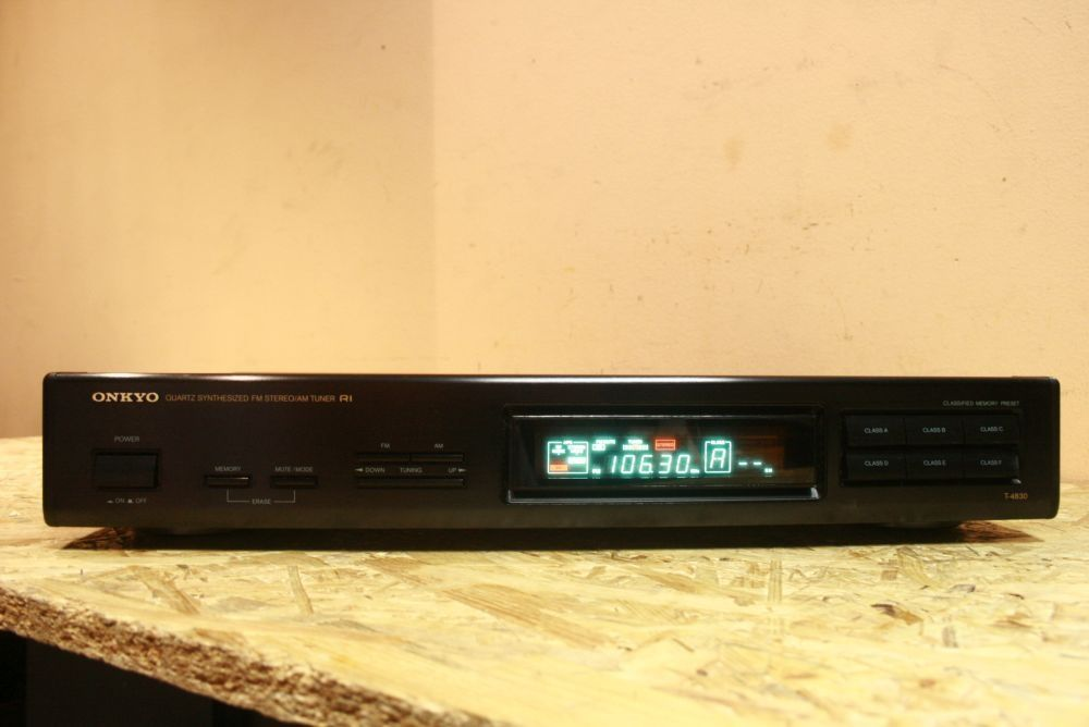 Funkcjonalny i bardzo czuły! Tuner Radiowy ONKYO T-4830 /Wysyłam! Nowy Targ - image 1