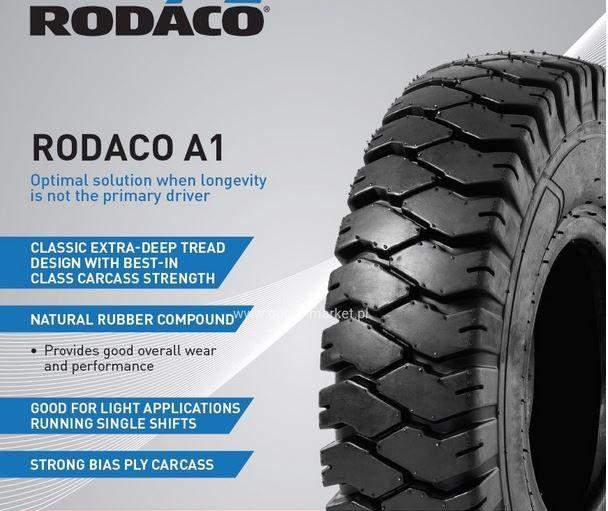 Opona pneumatyczna SOLIDEAL RODACO A1 28x9-15 wózek widłowy widlak