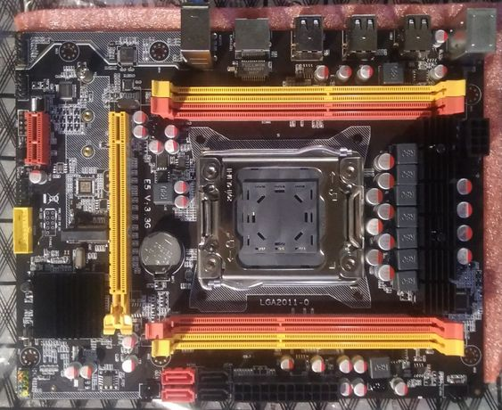 Комплект для игрового ПК X79G+E5-2630v2+16Гб ОЗУ. 12 ядер (логических