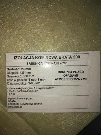 Systemy kominowe Brata WEŁNA IZOLACYJNA 1MB fi200