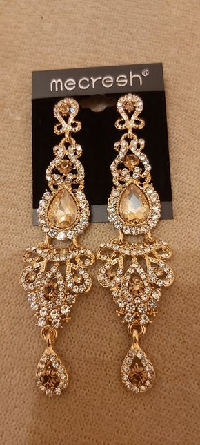 Biżuteria ślubna zlota i srebrna przepiękna okazja