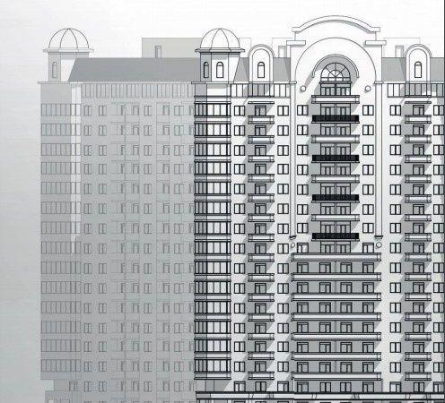 ЖК Посейдон 1 квартира с видом на море от Гефест