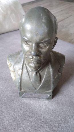 Popiersie Lenina z metalu. 16,5 cm