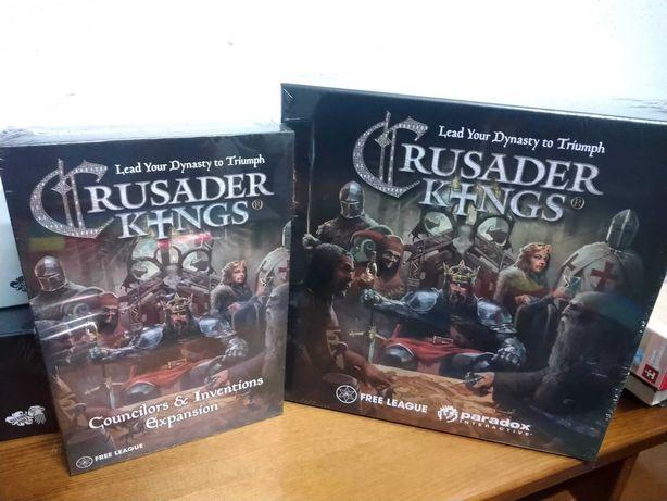 Crusader Kings + Expansão (SELADOS) | Jogo de Tabuleiro (Boardgame)