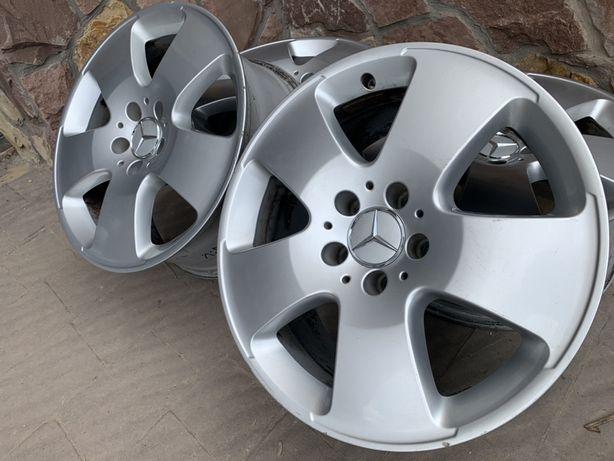 Диски Mercedes Original R17 5x112 Et43 8J. Volkswagen/Audi/Skoda/Seat