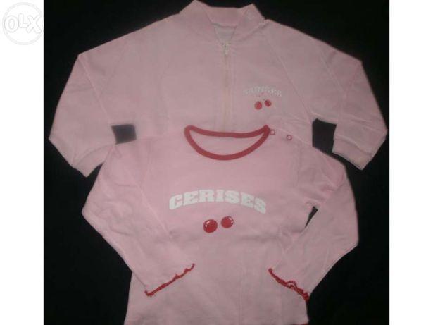 Casaco e camisola da girândola (conjunto) - 5 anos