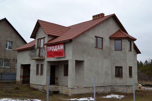 Продам 2-х поверховий будинок в Гусятині