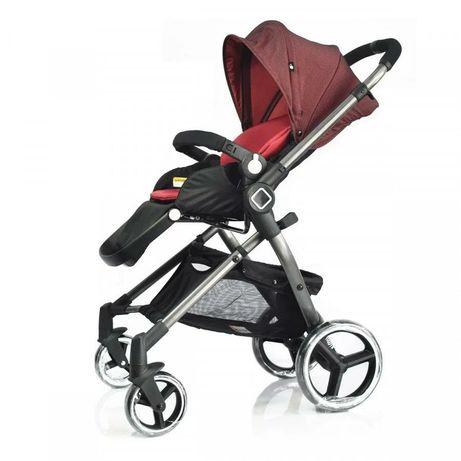 Детская коляска EvenfloVesse LC839A-W8BG Зеленая, Красная