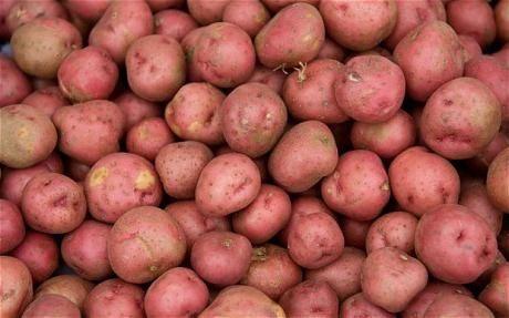 Картошка крупная