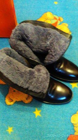 Зимние ботинки, состояние новое