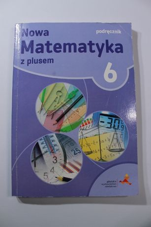 Podręcznik Nowa Matematyka z plusem, klasa 6