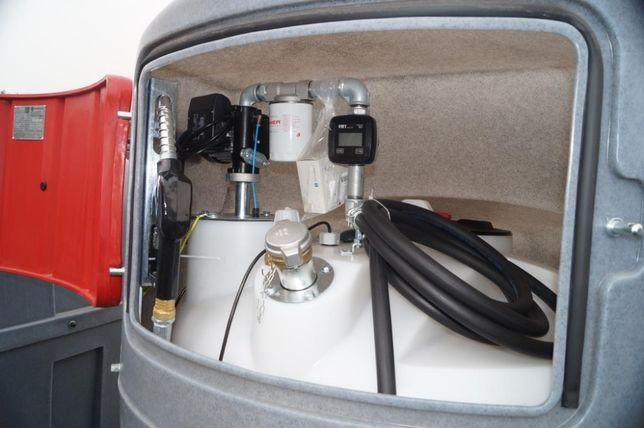 MIASTKO Zbiornik dwupłaszczowy na paliwo SWIMER 2500 l ON Diesel