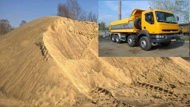 Piasek zasypkowy kopalniany zagęszczenia do fundamentów zasypowy piach
