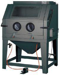 Tanque máquina decapagem peças c/990 lts c/luz interior aspirador
