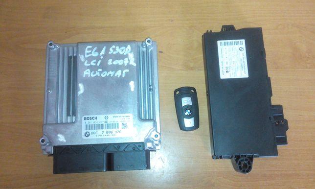 Bmw E60 E61 3.0D lci 235KM Komputer DDE silnika cas kluczyk zestaw
