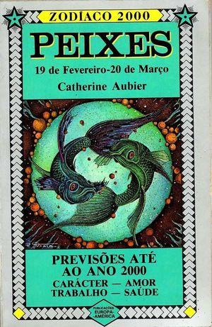 Livro 'Peixes - Zodíaco', de Catherine Aubier.