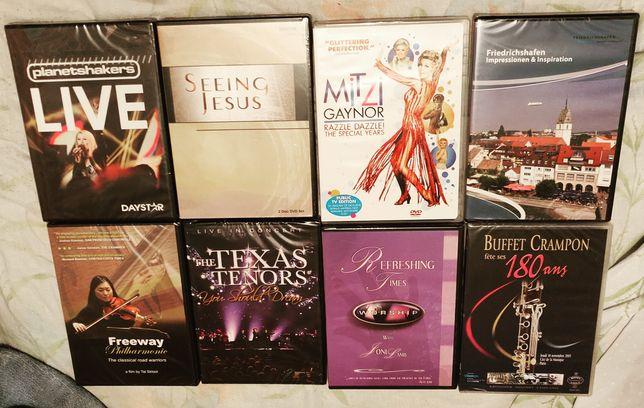 DVD новые, музыка, концерты, религиозные и тд...