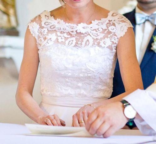 Piękna suknia ślubna Gala Galina