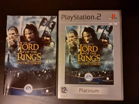 The Lord of the Rings The Two Towers gra PS2/Playstation 2 100 % spraw