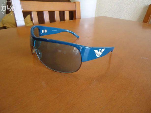 Óculos de sol emporio armani azuis originais e como novos