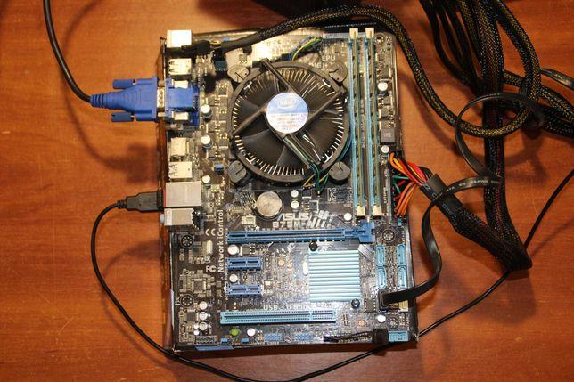 Core i3-3240 3.4GHz BOX + Asus B75M-A Intel B75 + 16Gb DDR3