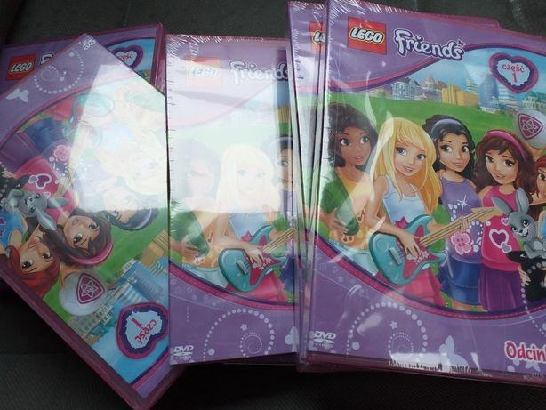 prezent dla dziewczynek lego friends dvd bajki