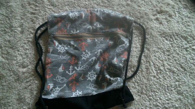 torba-worek dziewczęcy