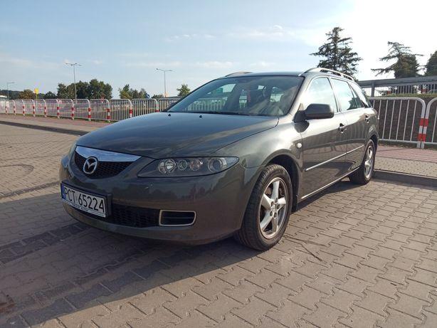 Mazda 6 lift kombi, sprzedam Mazdę po lifcie